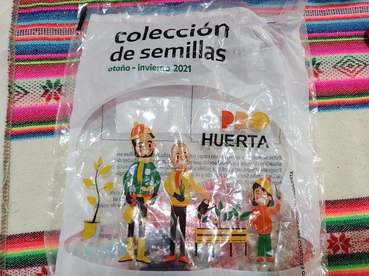 El Prohuerta entregará en Morteros semillas de temporada