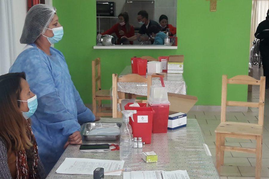 Vacunacion en Morteros