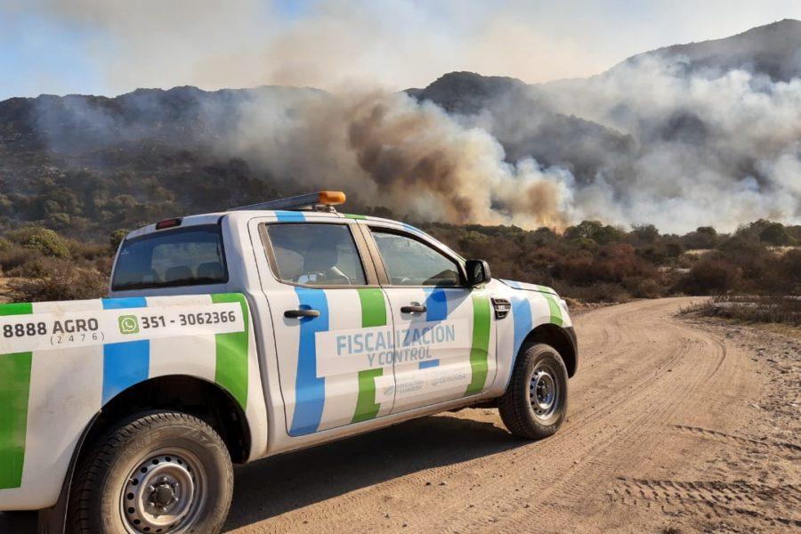 Por los incendios proponen declarar en Desastre Agropecuario las zonas afectadas