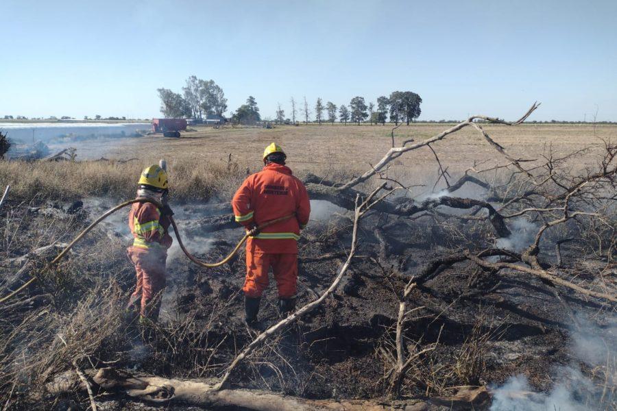 Incendios: convocan a la Comisión de Emergencia Agropecuaria